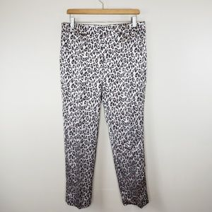 Banana Republic | Avery Leopard Ankle Pants
